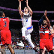 Washington Wizards V Philadelphia 76ers Art Print