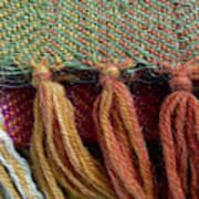 Wool Textile Background Art Print