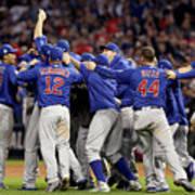 World Series - Chicago Cubs V Cleveland Art Print
