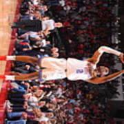 Oklahoma City Thunder V Houston Rockets Art Print