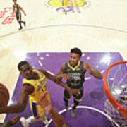 Golden State Warriors V Los Angeles Art Print