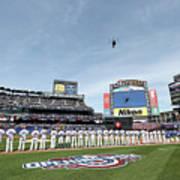 Atlanta Braves V New York Mets Art Print