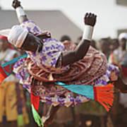 Benins Mysterious Voodoo Religion Is Art Print