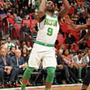 Boston Celtics V Miami Heat Art Print