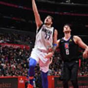 Dallas Mavericks V La Clippers Art Print