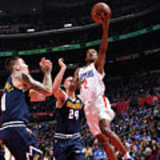 Denver Nuggets V La Clippers Art Print