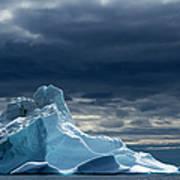 Icebergs, Disko Bay, Greenland Art Print