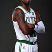 Kyrie Irving Boston Celtics Portraits Art Print
