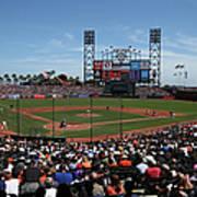 Los Angeles Dodgers V. San Francisco Art Print