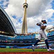 New York Yankees  V Toronto Blue Jays Art Print