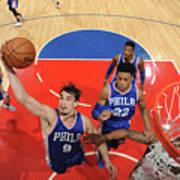 Philadelphia 76ers V La Clippers Art Print