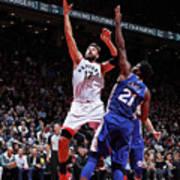 Philadelphia 76ers V Toronto Raptors Art Print