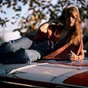 Photo Of Stevie Nicks And Fleetwood Mac Art Print