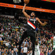Portland Trail Blazers V Boston Celtics Art Print