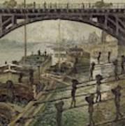 The Coalmen  Art Print