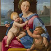 The Garvagh Madonna  Art Print