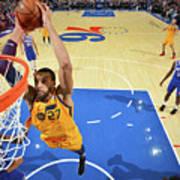 Utah Jazz V Philadelphia 76ers Art Print