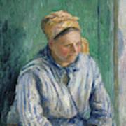 Washerwoman  Study  Art Print