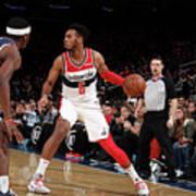 Washington Wizards V New York Knicks Art Print
