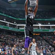 San Antonio Spurs V Sacramento Kings Art Print