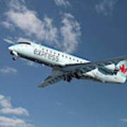 Air Canada Express Bombardier Crj-200er Art Print