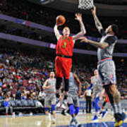Atlanta Hawks V Philadelphia 76ers Art Print