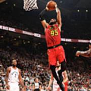 Atlanta Hawks V Toronto Raptors Art Print