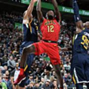 Atlanta Hawks V Utah Jazz Art Print