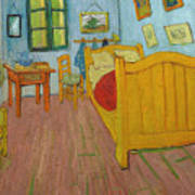 Bedroom In Arles Art Print