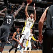 Brooklyn Nets V Indiana Pacers Art Print