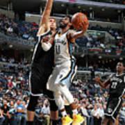 Brooklyn Nets V Memphis Grizzlies Art Print