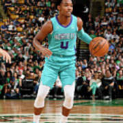 Charlotte Hornets V Boston Celtics Art Print