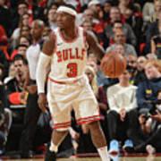 Chicago Bulls V Toronto Raptors Art Print