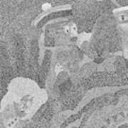 Detail From Sgt. Pepper's Mug Head Art Print