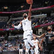 Detroit Pistons V Memphis Grizzlies Art Print