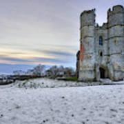 Donnington Castle - England Art Print