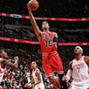 Houston Rockets V Chicago Bulls Art Print