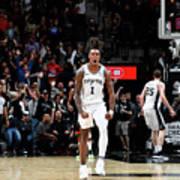 Houston Rockets V San Antonio Spurs Art Print