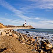 Lighthouse At Montauk Point, Long Art Print