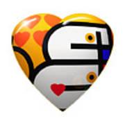 Love Heart Art Print