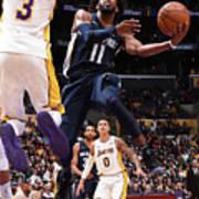 Memphis Grizzlies V Los Angeles Lakers Art Print