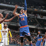 New York Knicks V Indiana Pacers Art Print