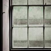Old Window Frame Art Print