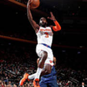 Orlando Magic V New York Knicks Art Print