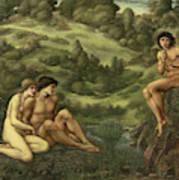 The Garden Of Pan Art Print