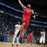 Toronto Raptors V New Orleans Pelicans Art Print