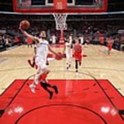 Washington Wizards V Chicago Bulls Art Print