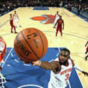 Cleveland Cavaliers V New York Knicks Art Print