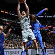 Dallas Mavericks V San Antonio Spurs Art Print