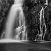 Hepokongas Waterfall Art Print